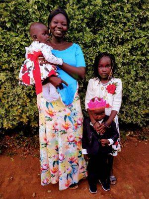 Jacob Chol's family in Nairobi