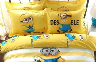 minions sheets and comforter